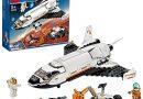 Jeu de construction Lego City 60226 – La navette spatiale avec rover et drone